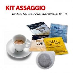 Kit Assaggio 30 Cialde Caffè 10000 CAFFÈ Filtro Carta ESE 44 mm SPEDIZIONE GRATUITA