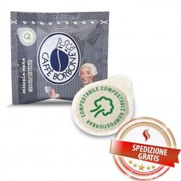 1200 Cialde Caffè BORBONE Miscela Nera Filtro Carta ESE 44 mm