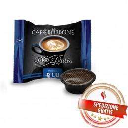 600 Capsule Caffè BORBONE Don Carlo Miscela BLU [Compatibili Lavazza A Modo Mio]