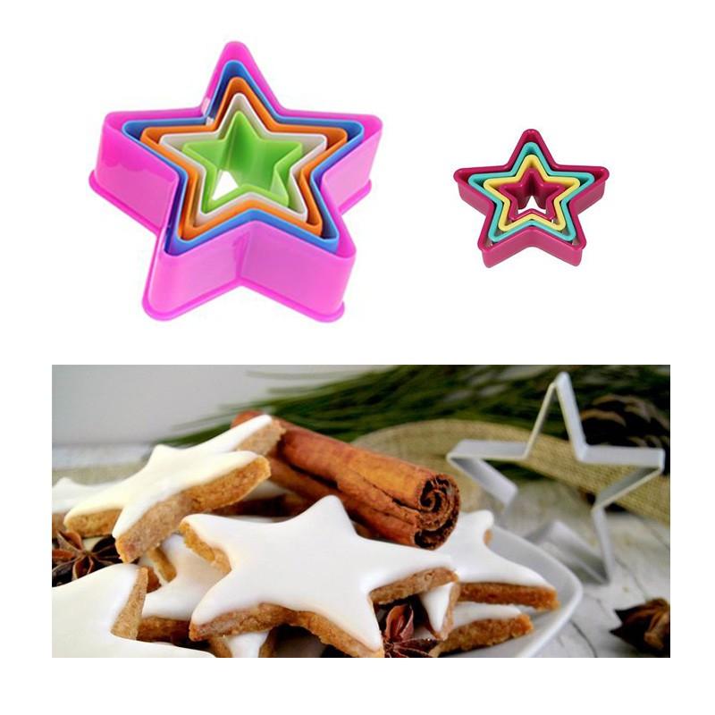 Stampo per Biscotti Formina per dolci Forma Stella BRANDANI